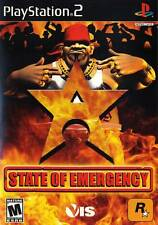 State Of Emergency PS2 Playstation 2 Game Complete