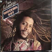 INI KAMOZE 🔹 Shocking Out 🔹 Vinile LP 🔹 1988 GREENSLEEVES