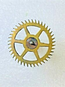 New Haven Clock Movement Escape Wheel (See Pics to ID Mvmt) (K5854)
