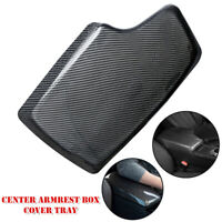 Carbon Fiber Center Console Armrest Box Cover Tray Fit For BMW 3 Series 4 Series