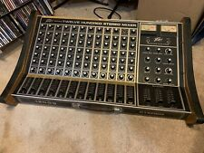 Peavey 1200 S Twelve Hundred Stereo Mixer Analog Vintage 12 Channel Studio Live