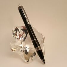 MONTBLANC StarWalker Black Midnight Ruthenium Plated Ballpoint Pen, MINT!