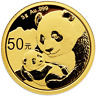 2019 50 Yuan Gold Chinese Panda .999 3g Brilliant Uncirculated Sealed