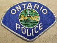 CA Ontario California Police Patch