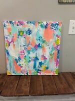 original acrylic modern painting abstract style. Contemporary art