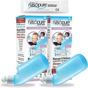 Dr. Hana's Nasopure Nasal Wash - Combo Two Little Sampler Kits