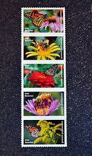 2017USA Forever - Protect Pollinators - Strip of 5  Mint (as pictured) butterfly