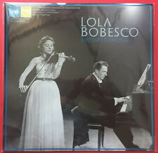 LOLA BOBESCO-Prokofiev-Violin Sonata No.2,Brahms Violin Sonata No.3 JAPAN LP NEW