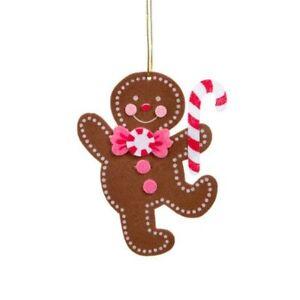 Felties Felt Gingerbread Man Christmas Ornament Craft Project Kit