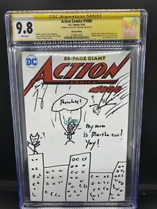 Action Comics 1000 blank/sketched by Tom King