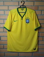 Brazil Jersey 2014 2016 Home Size XL Shirt Nike Football Soccer Trikot Maglia