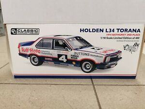 Classic carlectables 1 18 Holden L34 Torana 1974 Bathurst 2nd Place