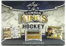 JAROMIR JAGR LUMBER KINGS HOCKEY 5 BOX 1/2 CASE BREAK FROM 10 BOX CASE