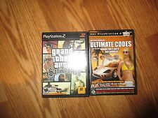 Playstation 2 grand Theft Auto San Andreas*