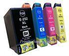 4PK Hi-Yield BK/C/M/Y Ink For Epson 252XL 252 WF3620 WF3640 WF7610 WF7620 WF7110