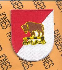 10th Cavalry Regt ACR BUFFALO SOLDIERS w/ dui crest beret flash patch
