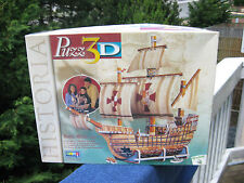 WREBBIT SANTA MARIA 1492 PUZZLE 3-D~370 Pieces`(Difficult) New & Sealed In Box!