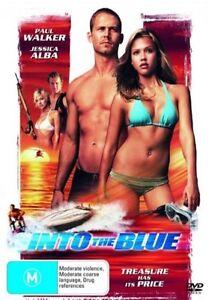 INTO THE BLUE starring Paul Walker (DVD, 2006) - LIKE NEW!!!