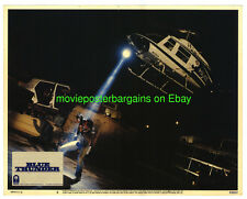 BLUE THUNDER LOBBY CARD 11x14 Inch size MOVIE POSTER 1983 HELICOPTER Card #3