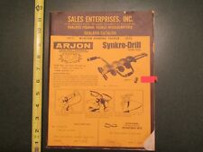 1975 Sales Enterprises Fishing Tackle Sporting Goods Wholesale Catalog dealers