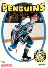 Custom made 1971-72 Pittsburgh Penguins Tim Horton hockey card 2