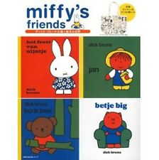 miffy's friends Book w/Miffy & Animal design Tote bag