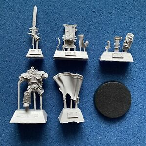 WARHAMMER 30K 40K - FORGEWORLD - INQUISITOR IN TERMINATOR ARMOUR - RESIN - NEW