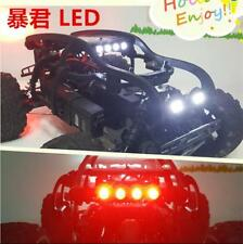 Front light + headlamp + taillight + Roll cage for Hpi Savage Flux XL 1/8 RC Car