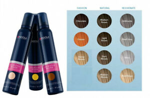 INDOLA -  Colour Style Mousse - missing LIDS on bottles - a few colors available