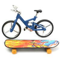 Fingertips Dance Finger Bike Bicycle + Finger Board Boy Kid Children Wheel Toy