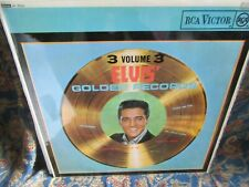 "Elvis Presley,""Elvis' Golden Records Volume 3"" UK Vinyl LP"