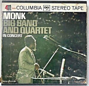 """Thelonius Monk """"In Concert"""" reel tape. Columbia Jazz 7.5 IPS."""