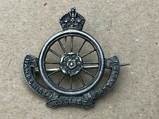 More details for hampshire cyclist battalion. silver hallmarked & makers mark