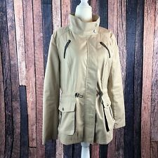 Circus By Sam Edelman Women's Jacket Coat Cotton Blend Elastic Waist Size Med