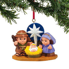 Dept 56 2014 Fisher Price Little People Nativity Ornament #4037443 NEW FREE SHIP