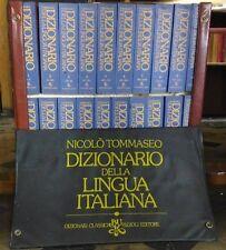 Nicolò Tommaseo -dizionario della lingua italiana - 20 Volumi con Cofanetto 1977