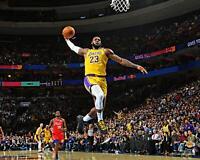 "LeBron James Los Angeles Lakers Unsigned Dunking 16"" x 20"" Photo - Fanatics"