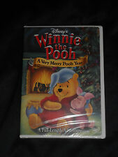 DISNEY'S WINNIE THE POOH - A VERY MERRY POOH YEAR DVD ** BRAND NEW SEALED **