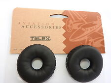 NEW TELEX EAR CUSHIONS or EAR PADS in LEATHERETTE for AIRMAN 850 p/n 800456-020