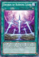 Swords of Burning Light Yugioh Card V Victory Common YS13-EN021