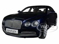 BENTLEY FLYING SPUR W12 PEACOCK BLUE 1/18 DIECAST MODEL CAR BY KYOSHO 08891 PC