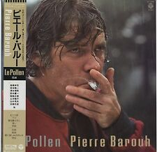 Pierre Barouh - Le Pollen JAPAN LP with OBI and LYRIC SHEET