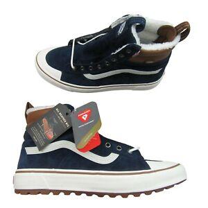 Vans Sk8-Hi All Weather MTE 2.0 DX Sneakers Men's Size 10 Blue NEW VN0A4P3IRIY