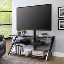 """Whalen Xavier 3-in-1 TV Stand for TVs up to 70"""", with 3 Display Options"""