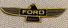 """Vintage-(FORD)-racing eagle wings patch Falcon-NOS-9""""x3"""" patch size!!!!!!!"""