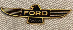 "Vintage-(FORD)-racing eagle wings patch Falcon-NOS-9""x3"" patch size!!!!!!!"