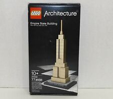 New! LEGO Architecture New York Empire State Building 77 pc Set (21002) {4352}