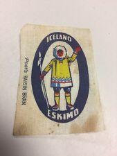 Post's Raisin Bran Cloth Iceland Eskimo