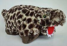 Peewee Pillow Pets Dinosaur Plush Rexy the T-Rex New Stuffed Animal Brown Red