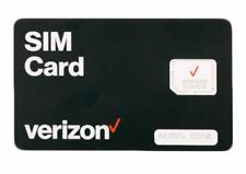 Verizon Sim Card - Triple Cut (Fits all phones)